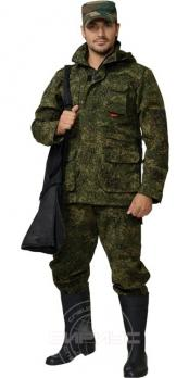 "Костюм ""ВОЛК"" летний: куртка, брюки ( тк. Рип-стоп) КМФ ""Цифра"""