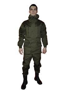 """Костюм """"ГОРКА"""" летний: куртка, брюки ( п-но палаточное ),  хаки"""