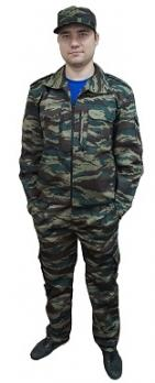 "Костюм ""СТРАЖ"": куртка, брюки (тк. гретта) КМФ Лес"