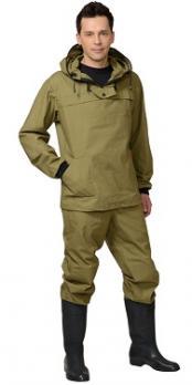 "Костюм противоэнцефалитный ""Антигнус-260"" куртка дл.,брюки (п-но палаточное) хаки"