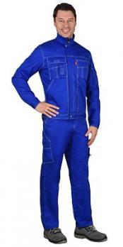 """Костюм """"Плутон"""" куртка, брюки васильковый"""